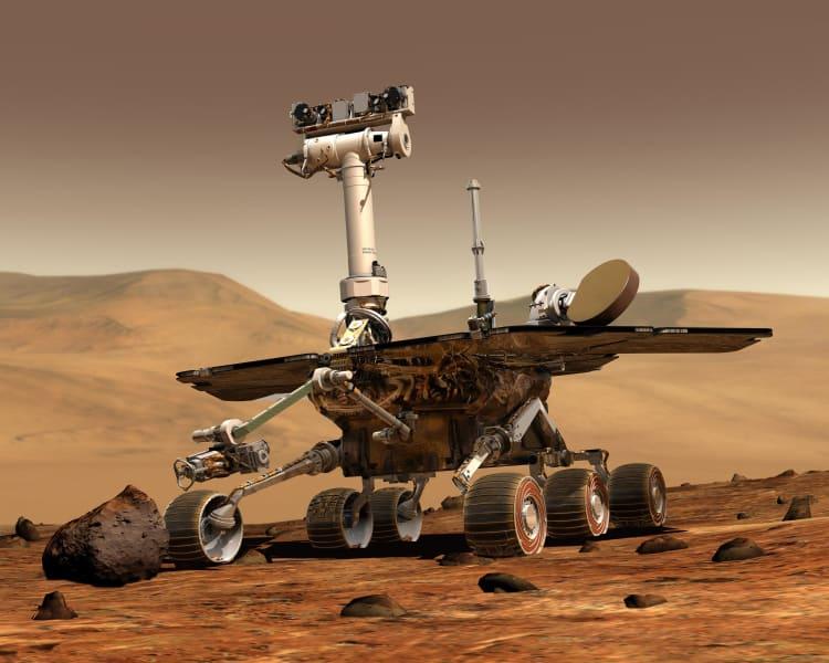nasa spirit mars rover