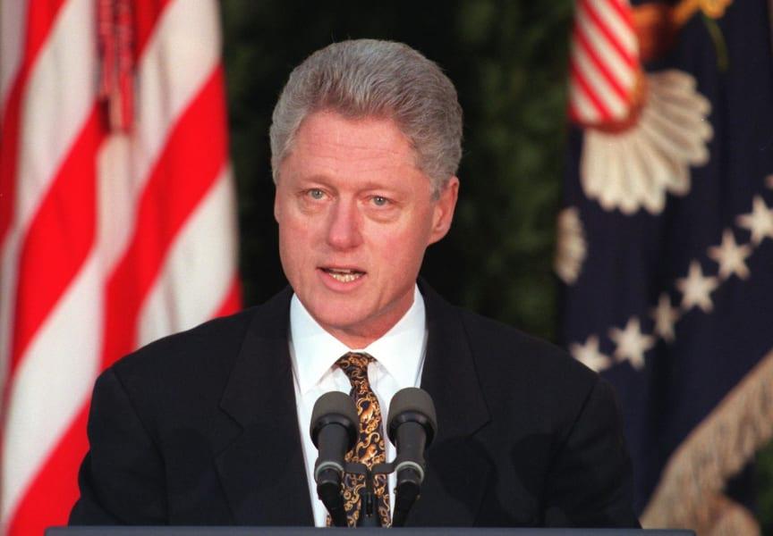 bill clinton 1998
