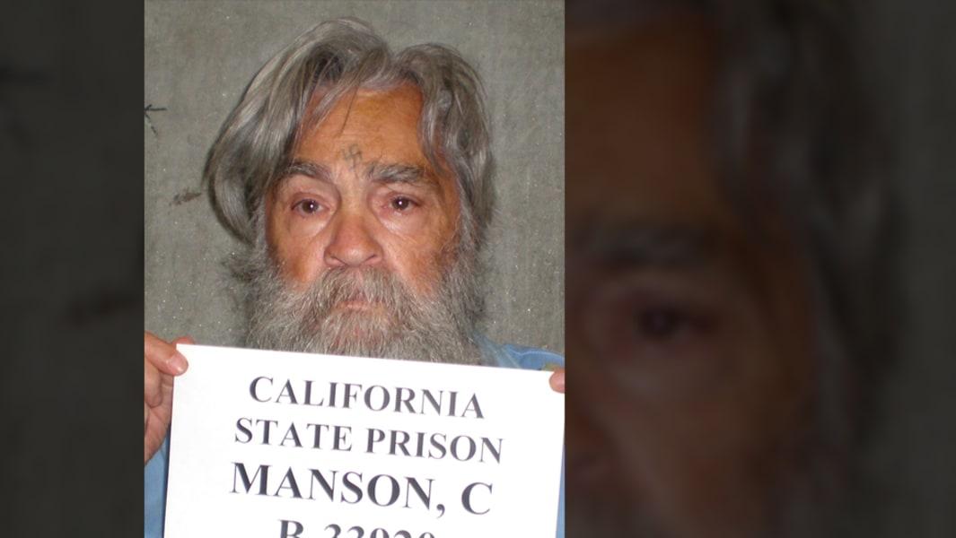 Charles Manson mugshot 1 (2011)
