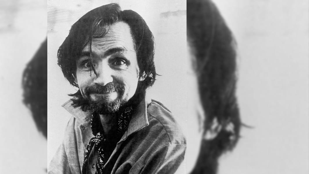 Charles Manson mugshot 6 (1978)