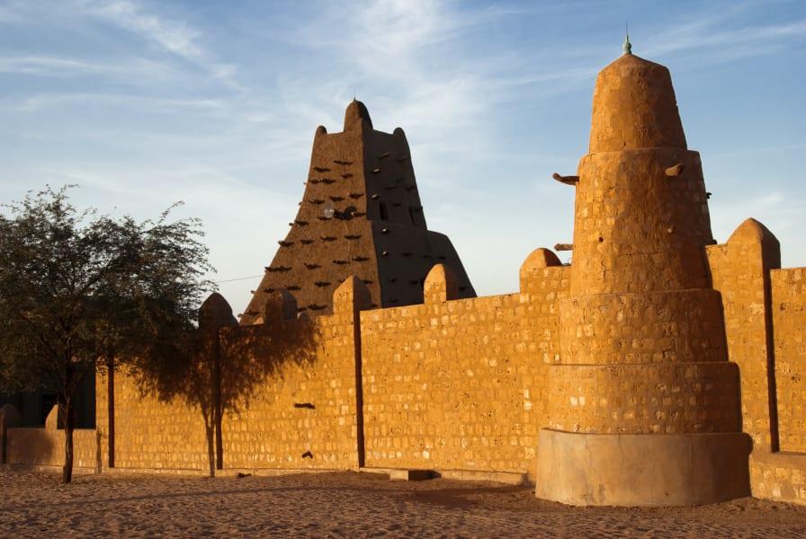 Sankore mosque timbuktu