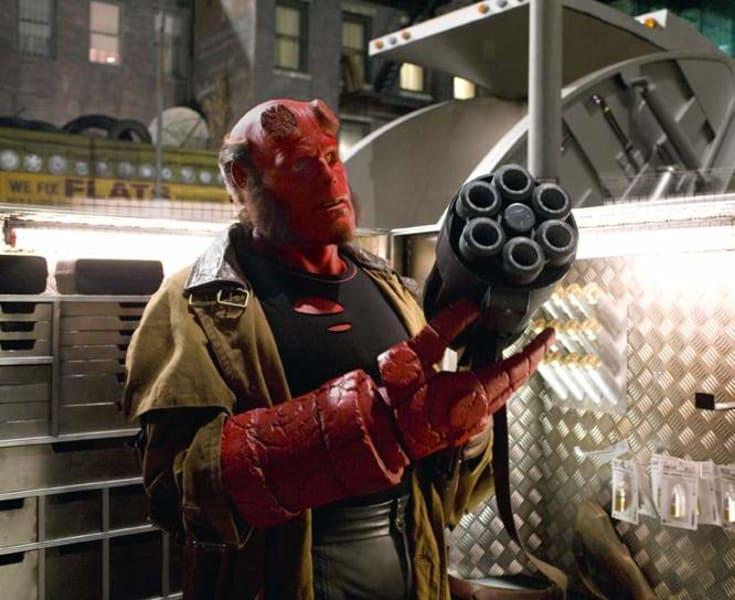 superheroes hellboy II