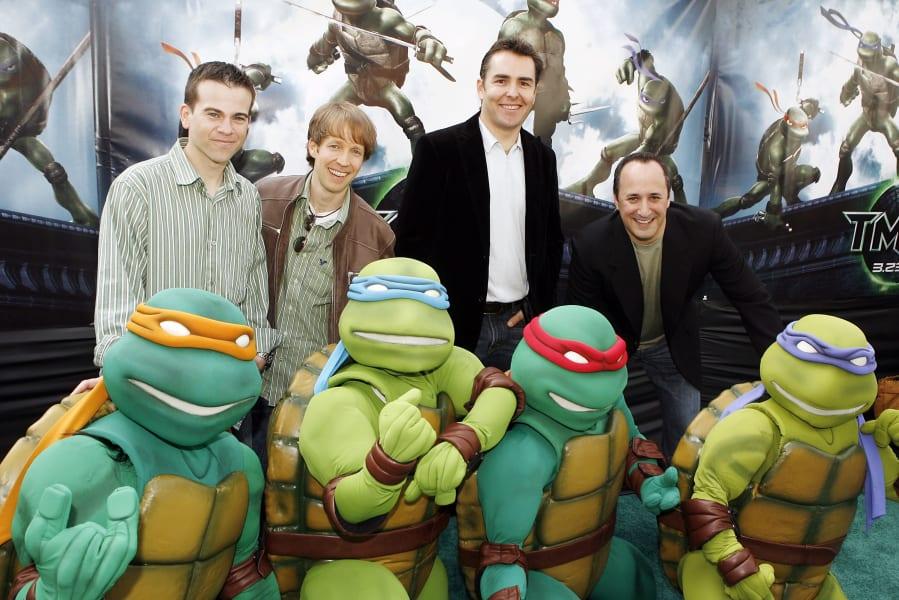 superheroes Teenage Mutant Ninja Turtles