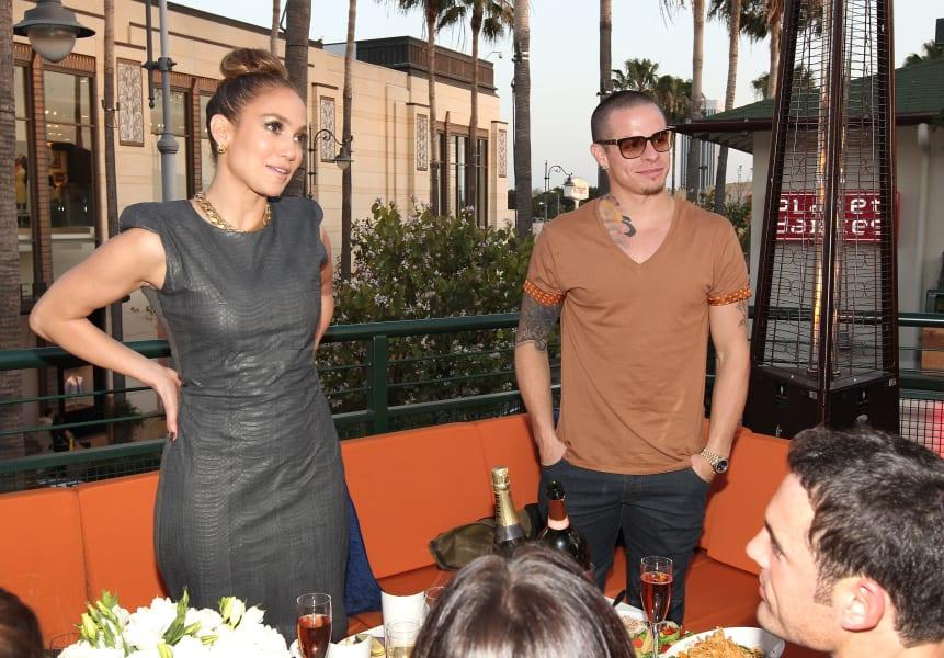 Jennifer Lopez Casper Smart 2012