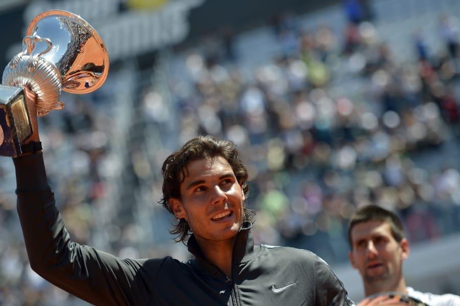 Tennis rome masters final nadal