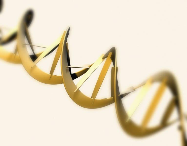 DNA strand illustration double helix
