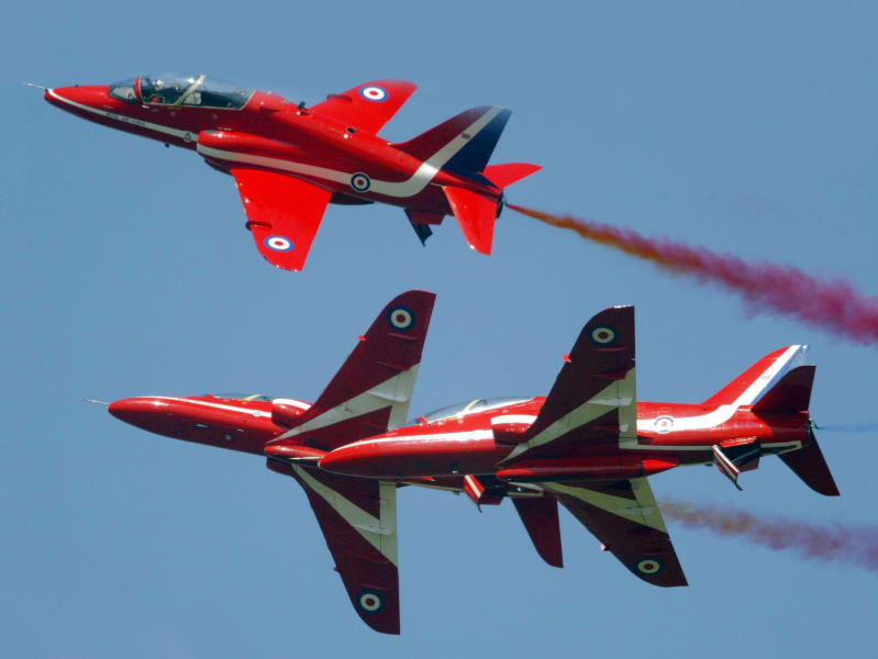 Farnborough red arrows