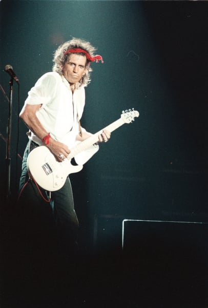 Rolling Stones Keith Richards
