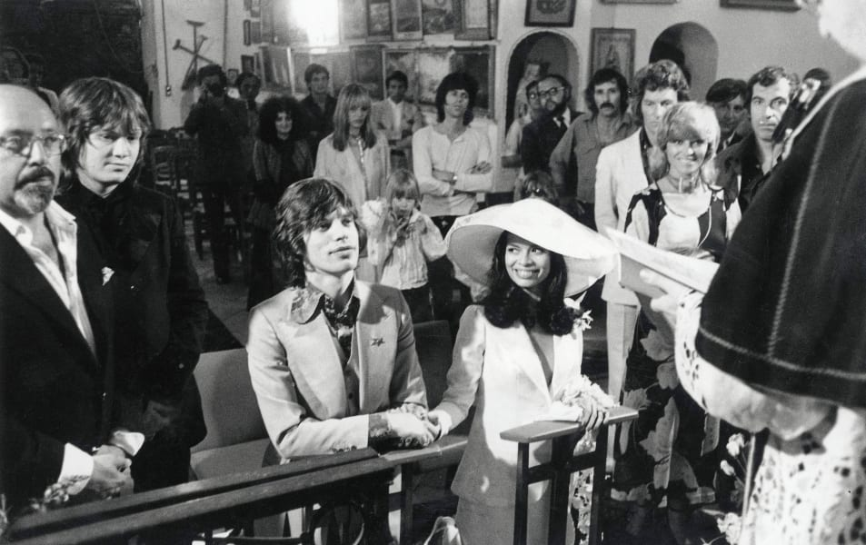 rolling stones mick and bianca
