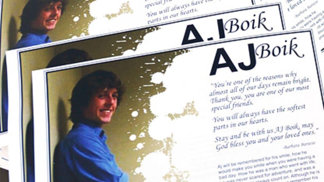 A.J. Boik colorado victim