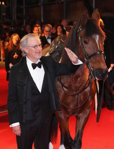 Steven Spielberg Warhorse premiere