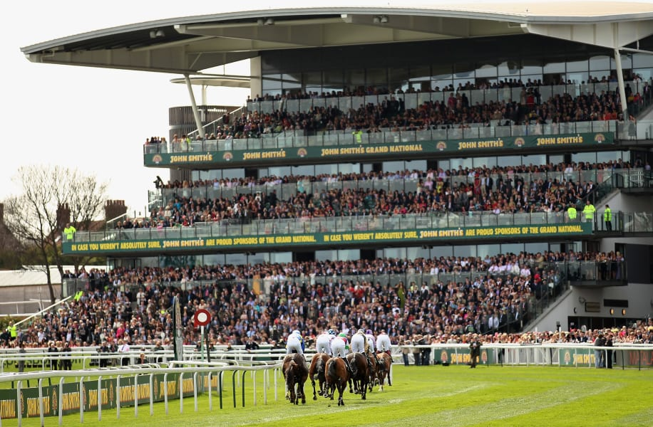 beautiful racecourses aintree