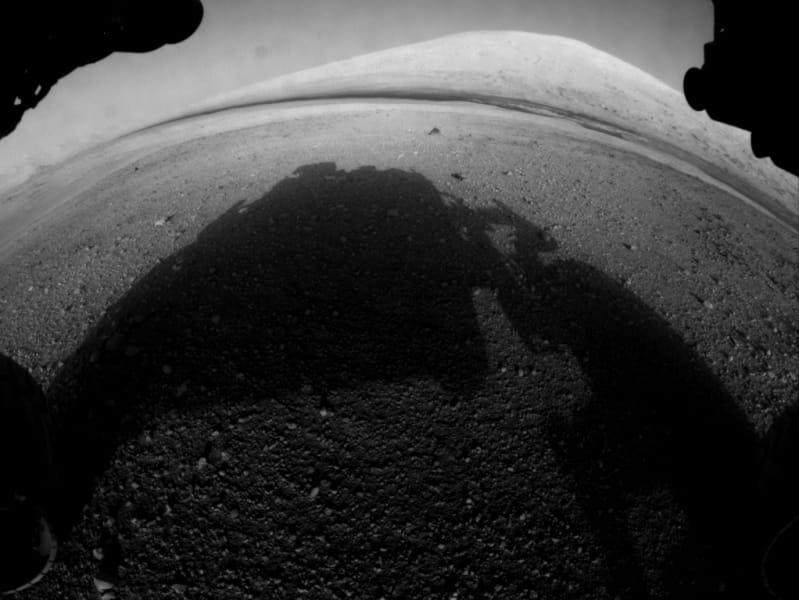 Mars Curiosity Rover fisheye