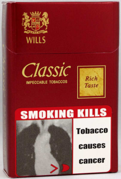 India tobacco warnings