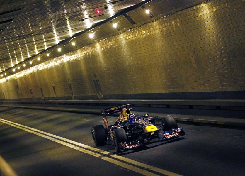 red bull lincoln tunnel
