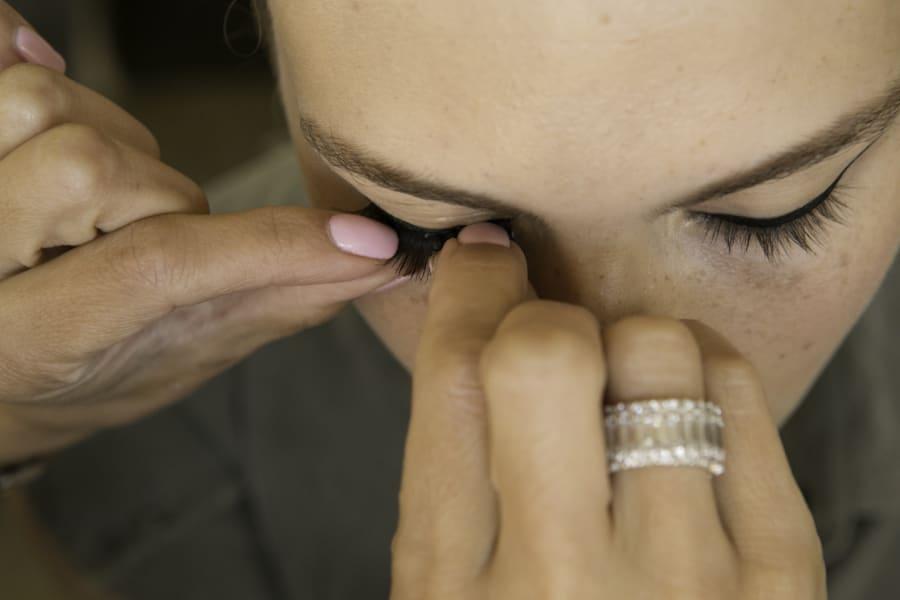 makeup + hair tutorial 13