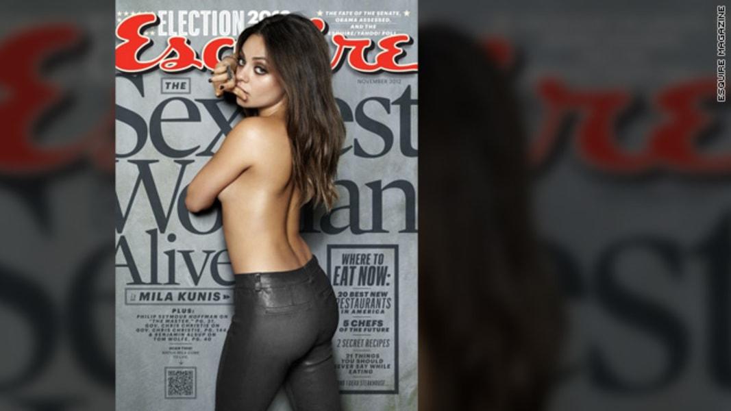 Mila Kunis Esquire magazine sexiest woman