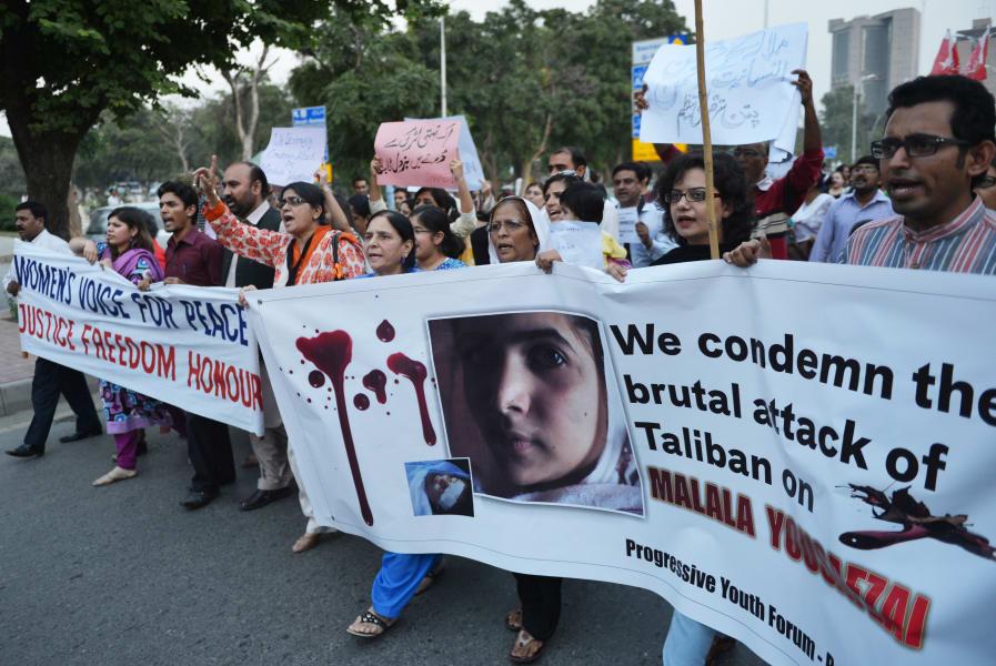 12 malala mourning