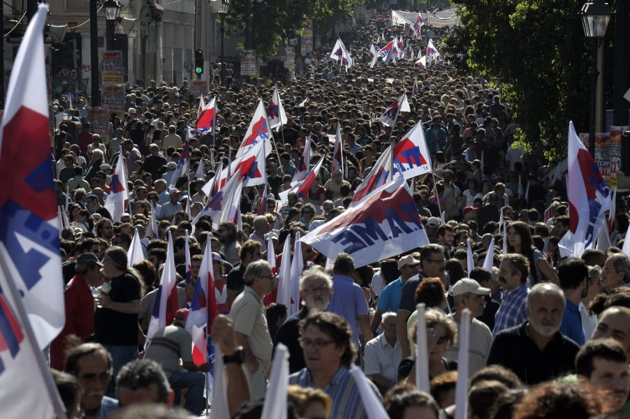 greece protest violence 7