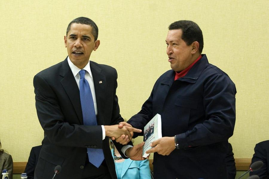 barack obama hugo chavez