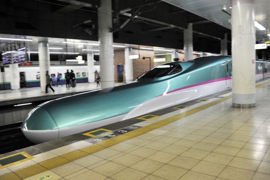 bullet train japan safety