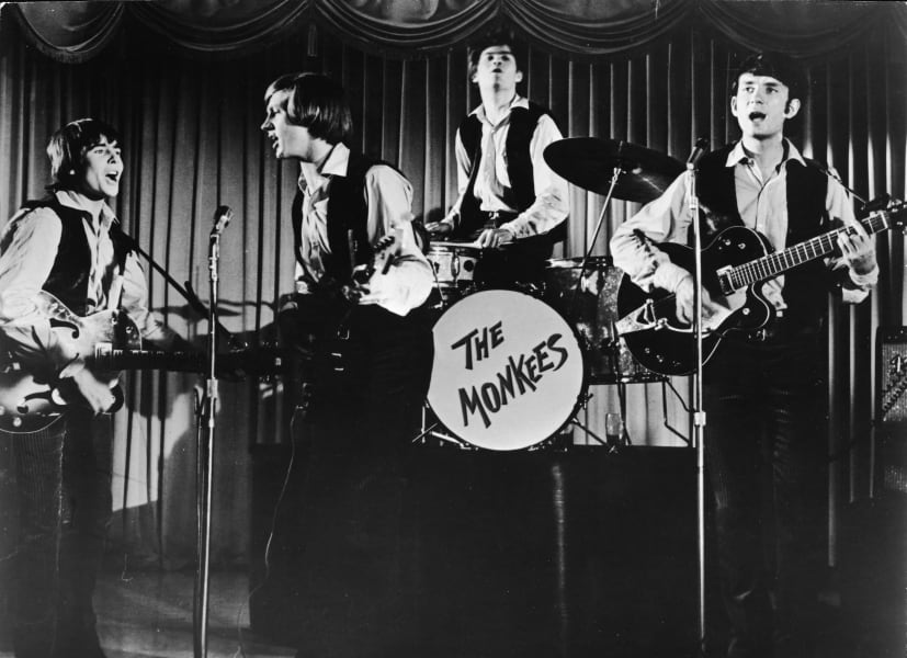 boy bands The Monkees