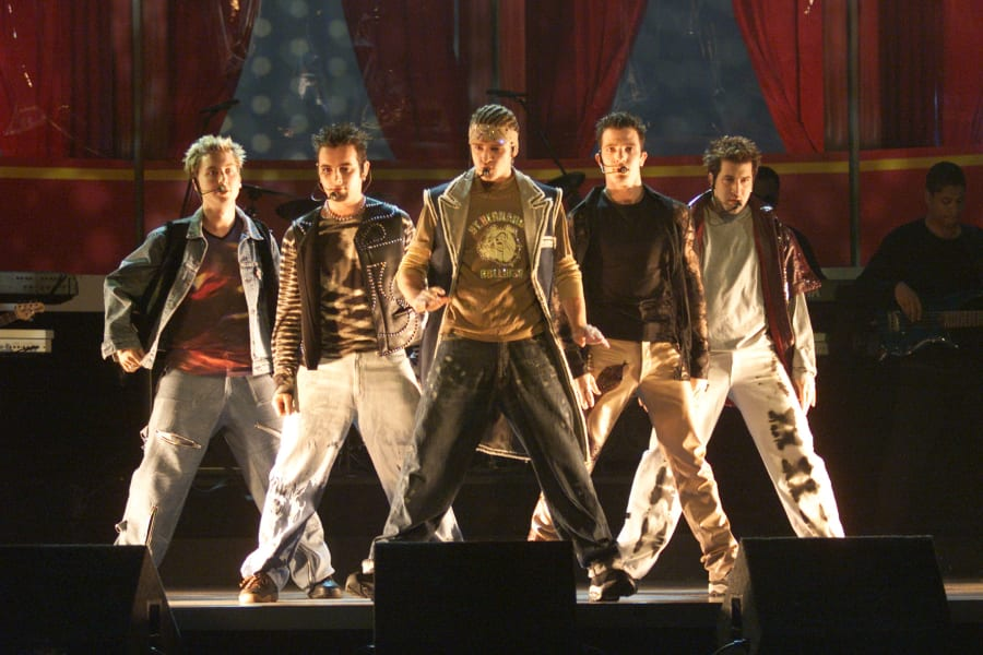 boy bands NSYNC