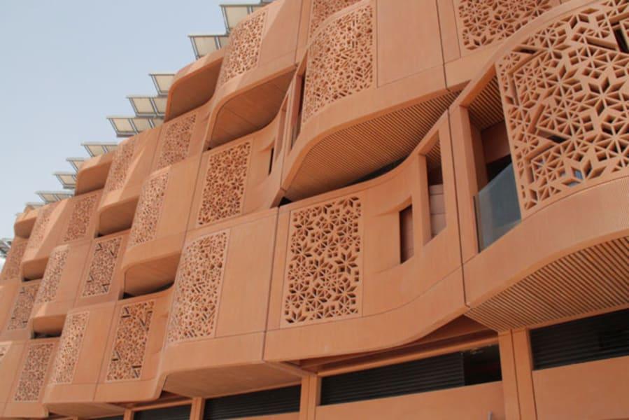 masdar facade