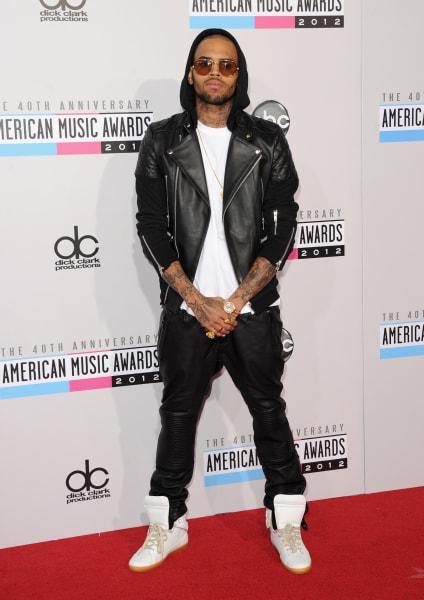 ama 2012 Chris Brown