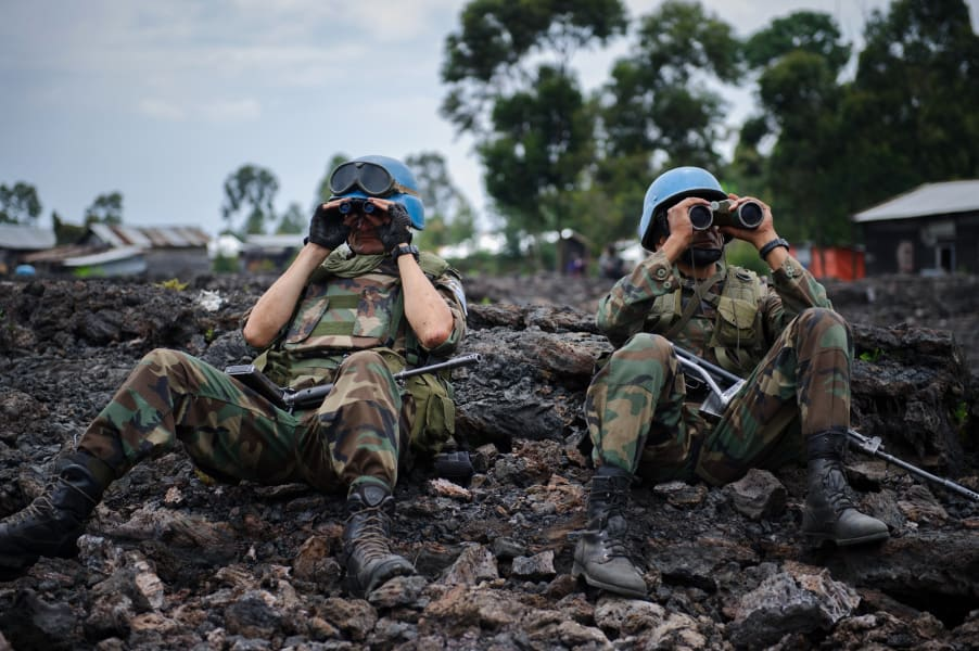 DR Congo peacekeepers