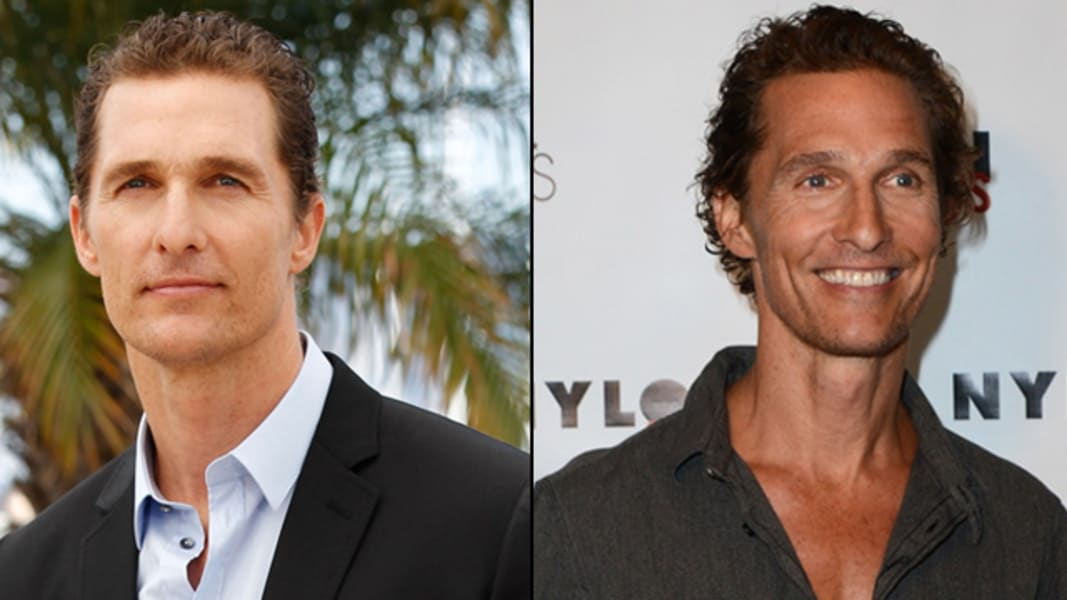 2012 transformations Matthew McConaughey