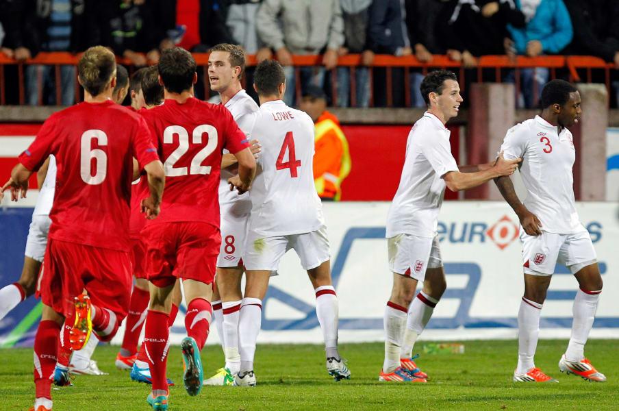 Football England Serbia