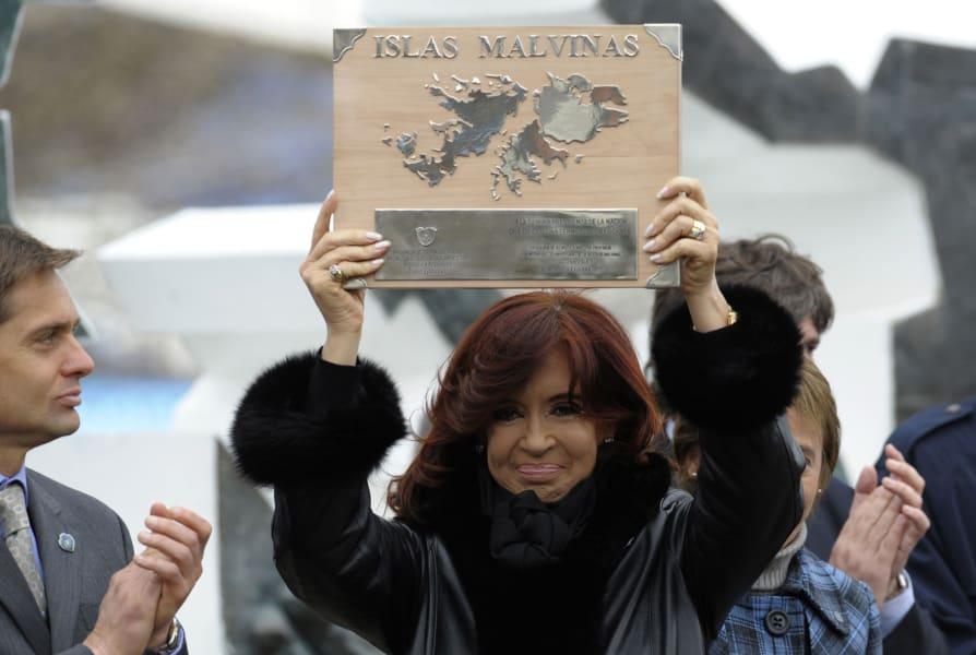 Kirchner Falklands