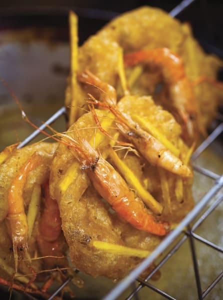 charles phan sweet potato shrimp