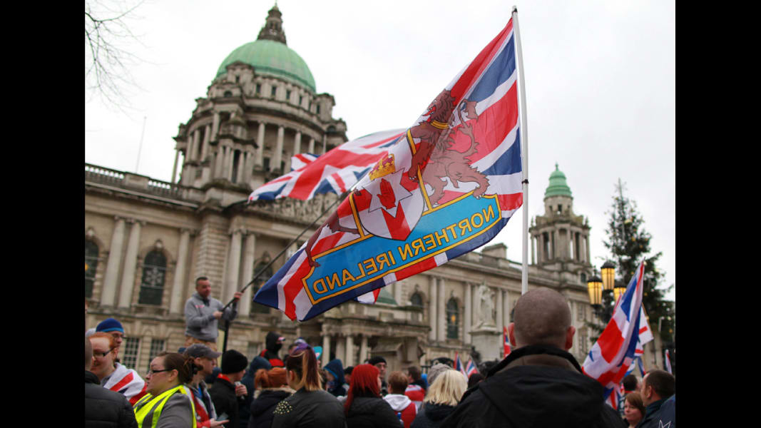 10 northern ireland protest