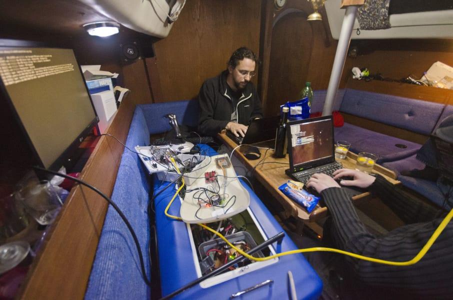 hackerfleet working baltic sea