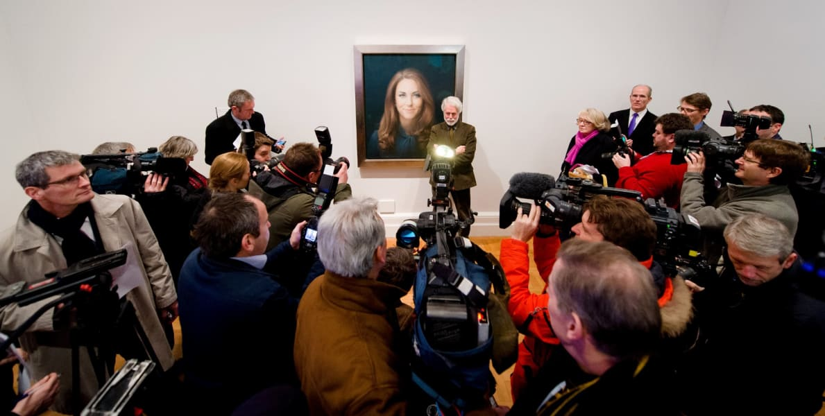 Duchess of Cambridge portrait Paul Emsley
