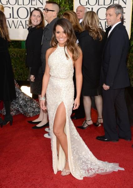 jolieing Lea Michele