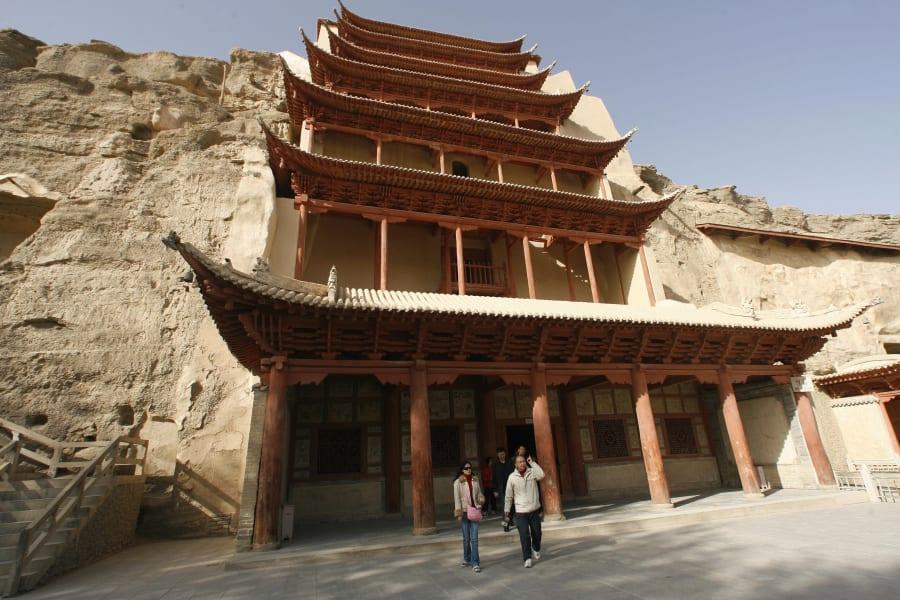 Buddhist cave 8