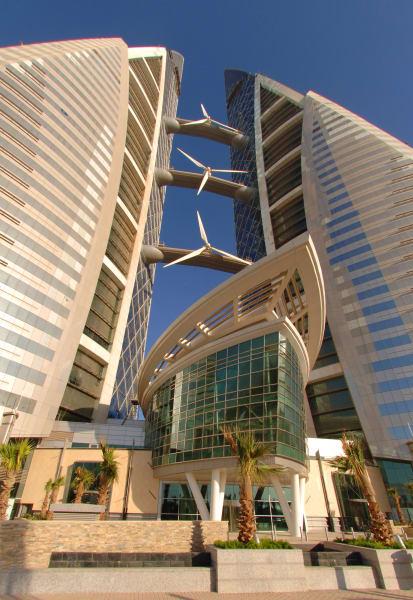 Sustainable building Bahrain world trade center