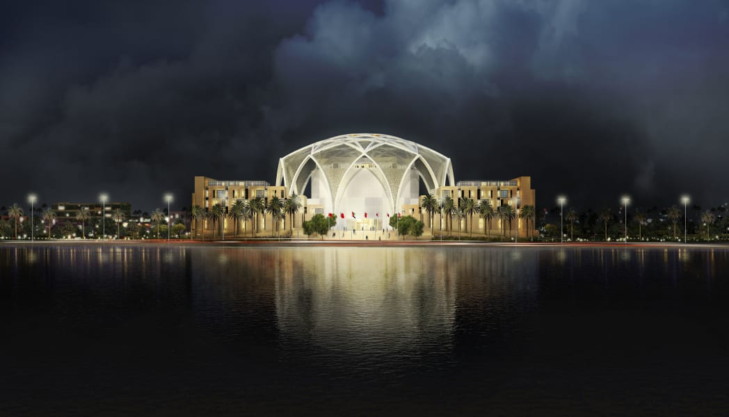 sustainable building FNC parliament  Abu Dhabi