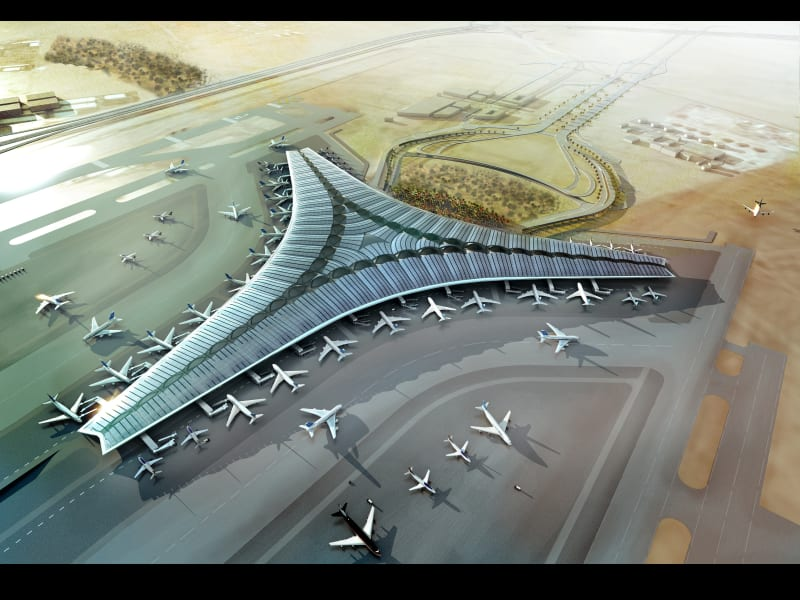 Sustainable building Kuwait airport