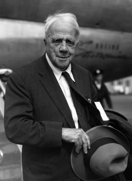 1961: Robert Frost