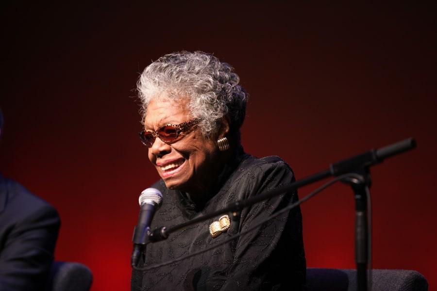 1993: Maya Angelou