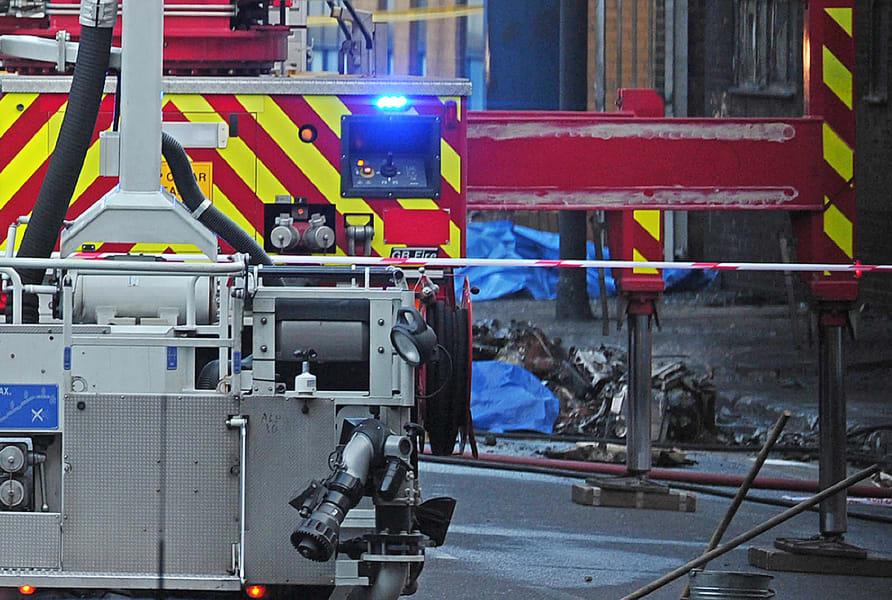 London irpt crash