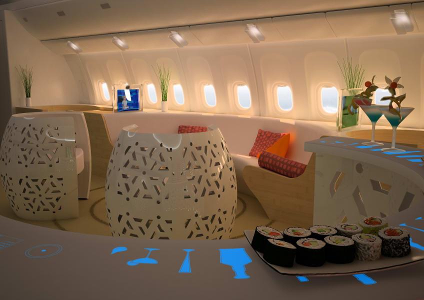 Casino Jet Lounge AirJet Designs Designescence