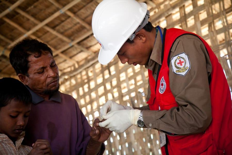 medical volunteer camp Myanmar