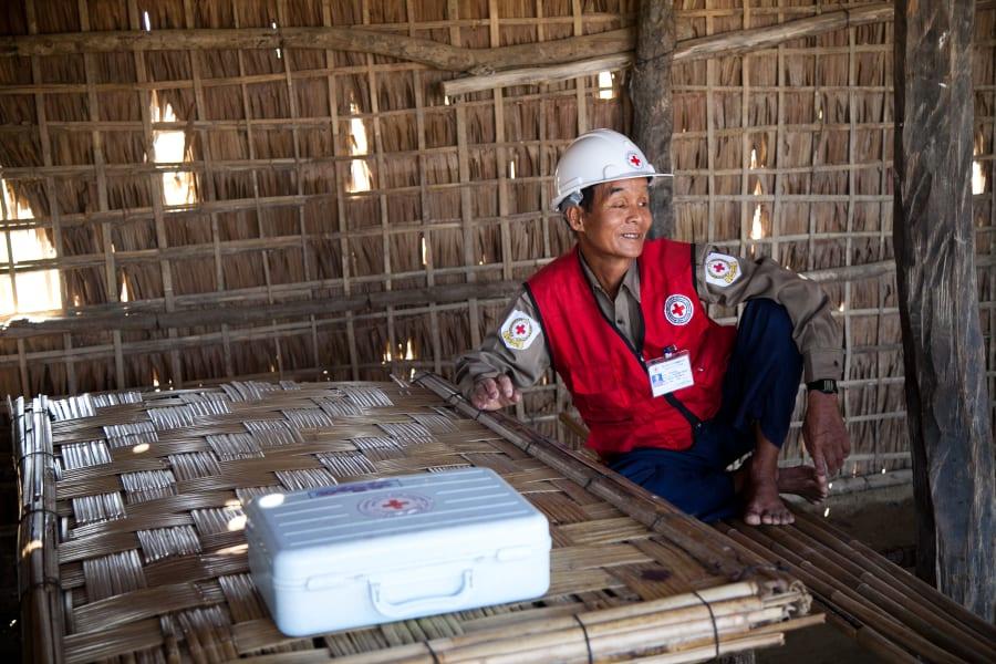 Myanmar volunteer