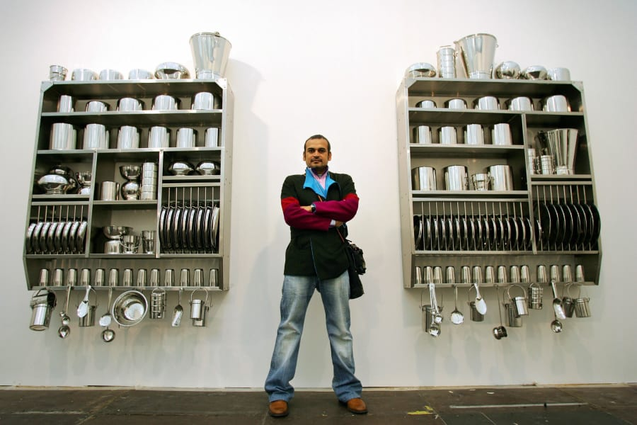 Subodh Gupta frieze art fair