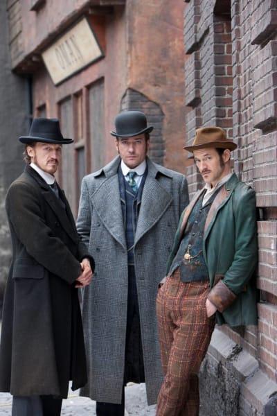 ripper street trio